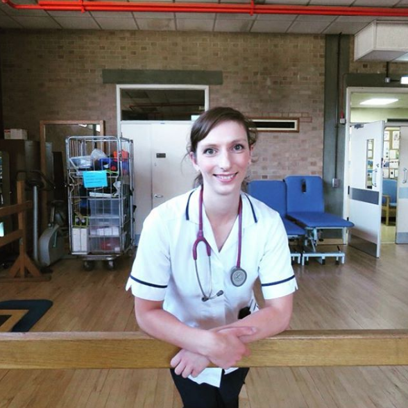 Siobhan Harding - NHS Physiotherapist Job