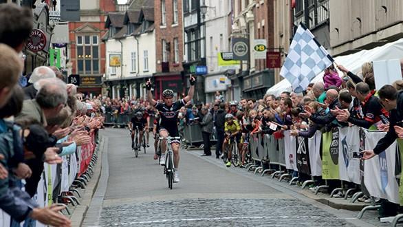 Grand Prix,. Shrewsbury, Shropshire.